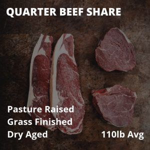Quarter Beef Share (Deposit Only)